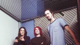 Dave Grohl, Kurt Cobain y Krist Novoselic