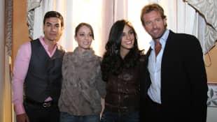 David Zepeda, Laisha Wilkins, Sandra Echeverría y Gabriel Soto
