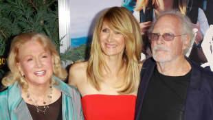 Diane Ladd, Laura Dern and Bruce Dern 2014