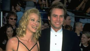 Lauren Holly and Jim Carrey
