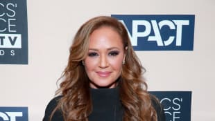 Mike Rinder and Leah Remini attend the Critics' Choice Real TV Awards at The Beverly Hilton Hotel on June 02, 2019