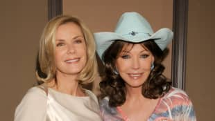 Lesley-Anne Down and Katherine Kelly Lang
