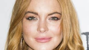 Lindsay Lohan en la premiere de la obra 'Speed the Plough'