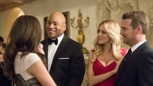 LL Cool J, Bar Paly and Chris O'Donnell
