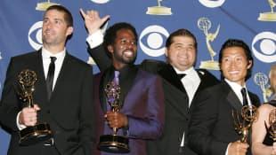 Matthew Fox, Harold Perrineau, Jorge Garcia and Daniel Dae Kim