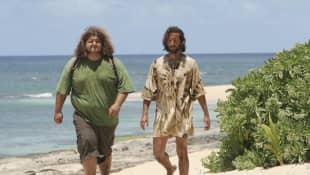 Jorge Garcia and Henry Ian Cusick