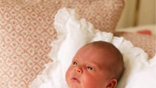 First official photos of Prince Louis of Cambridge