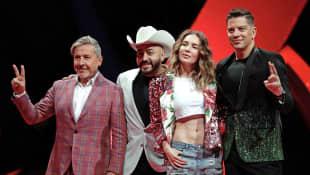 Ricardo Montaner, Lupillo Rivera, Belinda y Yahir