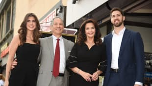 Lynda Carter and her family