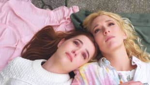 Zoey Deutch and Madelyn Deutch in 'The Year of Spectacular Men'