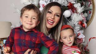 Mariana Ochoa e hijos