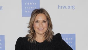 "Mariska Hargitay Calls Home Life With Husband & 3 Kids ""Happy Chaos"""