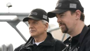 "NCIS Mark Harmon (""Gibbs"") and Sean Murray (""McGee"") January 2019"