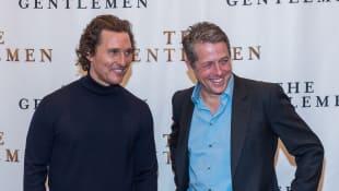 Matthew McConaughey and Hugh Grant The Gentlemen