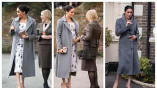 The Duchess of Sussex visits Brinsworth House care home