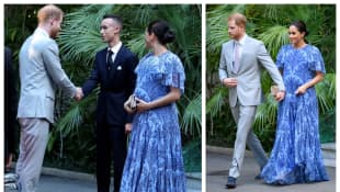 Meghan and Harry visit King Mohammed VI of Morocco