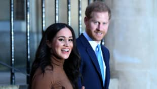Meghan Markle And Prince Harry Video Call From New Home