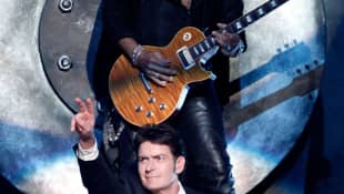Charlie Sheen y Slash