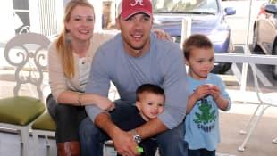 Melissa Joan Hart y su familia