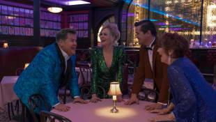 James Corden, Nicole Kidman, Andrew Rannells y Meryl Streep en una escena de la película 'The Prom'
