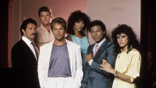 The Cast of 'Miami Vice'.