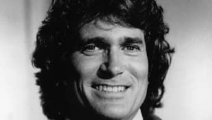 """Michael Landon starred as """"Jonathan Smith"""" in Highway to Heaven"""