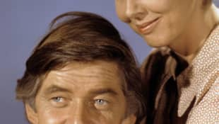 Ralph Waite and Michael Learned