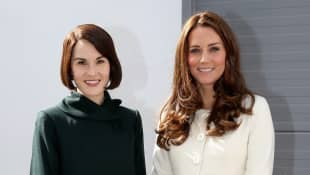 Michelle Dockery and Duchess Catherine
