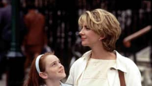 Natasha Richardson and Lindsay Lohan in 'The Parent Trap'