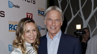 Mark Harmon y Maria Bello