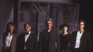 The main cast of NCIS, pictured in 2003.