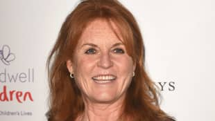Sarah Ferguson Photos Mopping Floor Down To Earth