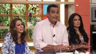Martha Guzmán, Omar Fierro y Joanna Vega-Biestro