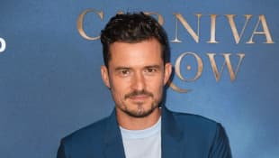 "Orlando Bloom Feels ""Very Grateful"" To Be Safe At Home With Family After Leaving Europe"