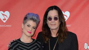 Ozzy y Kelly Osbourne