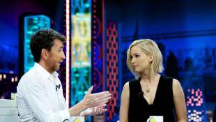 Pablo Motos y Jennifer Lawrence