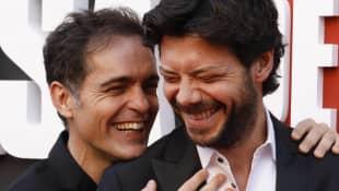 Pedro Alonso and Álvaro Morte