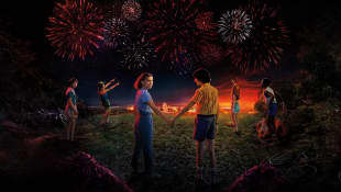 Póster de la serie 'Stranger Things'