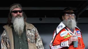 Phil Robertson and Si Robertson