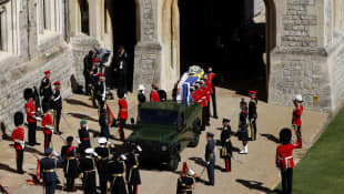 Prince Philip's Funeral Watched By Millions Around The World