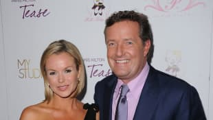 """Piers Morgan Takes Swipe At Amanda Holden For Posting """"Desperate"""" Pictures On Instagram"""