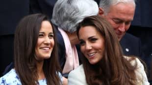 Pippa Middleton y Kate Middleton