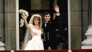 El príncipe Andrew y Sarah Ferguson