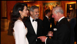 Prince Charles, Amal Clooney, and George Clooney