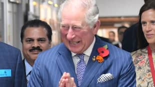 Prince Charles and his wife are currently in India.