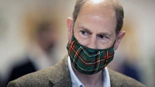 Prince Edward Talks About Royal Family Tension In CNN Interview