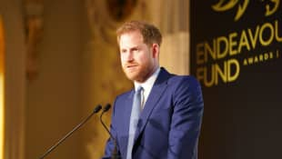 "Prince Harry addressed veterans in a heartfelt speech: ""You have my back."""