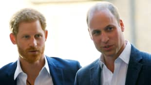 Prince Harry and Prince William Will Walk Separately At The Procession