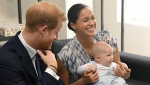 Prince Harry, Meghan Markle and Prince Archie