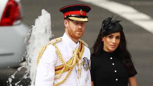 Príncipe Harry y Duquesa Meghan